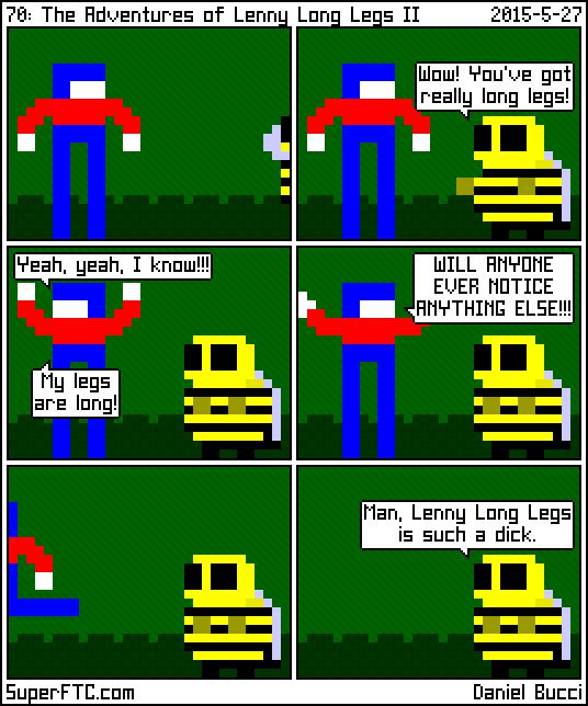 The Adventures of Lenny Long Legs II
